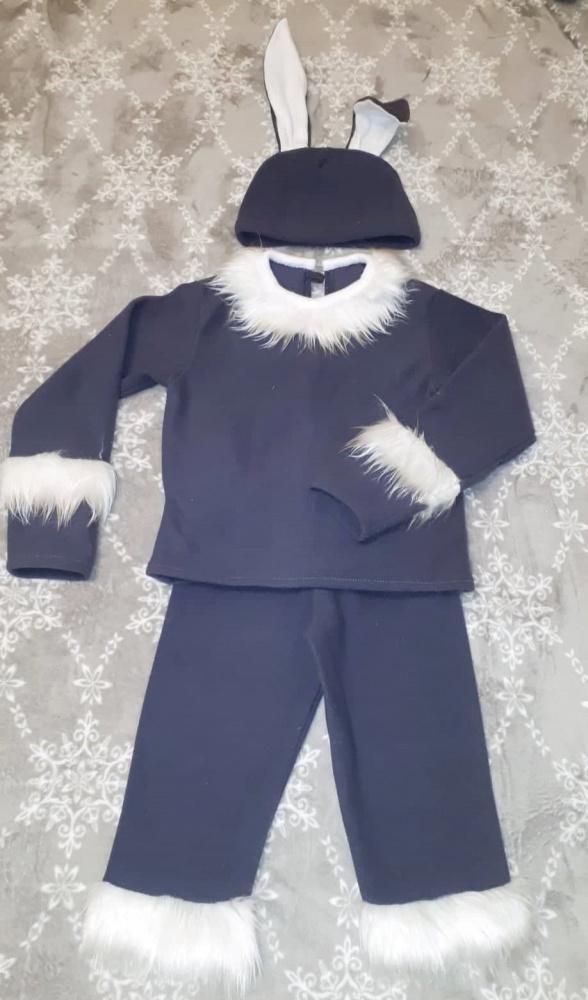 Kiškio, zuikio vaikiškas karnavalinis kostiumas */*