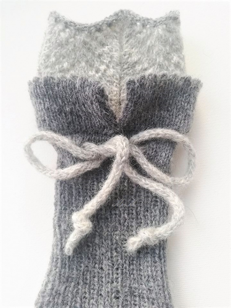 "kojinės pilkos ""Ellegant"""
