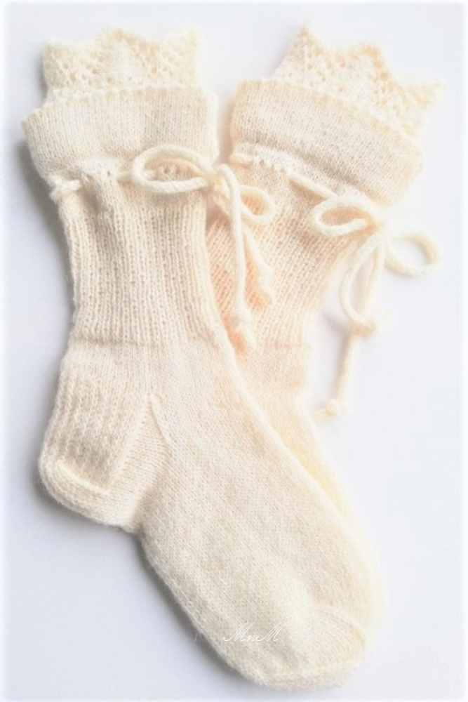 "kojinės ""Ellegant"" baltos"