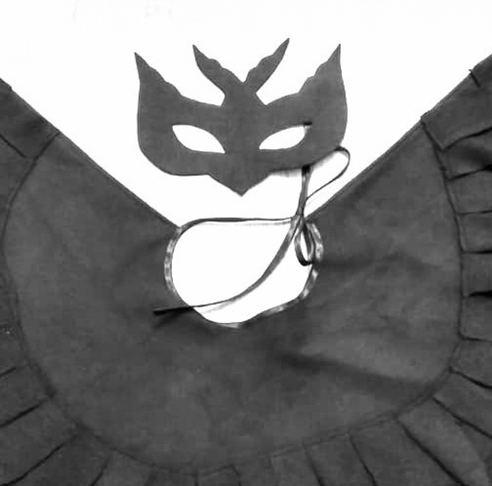 Kregždės, kregždutės vaikiškas karnavalo kostiumas