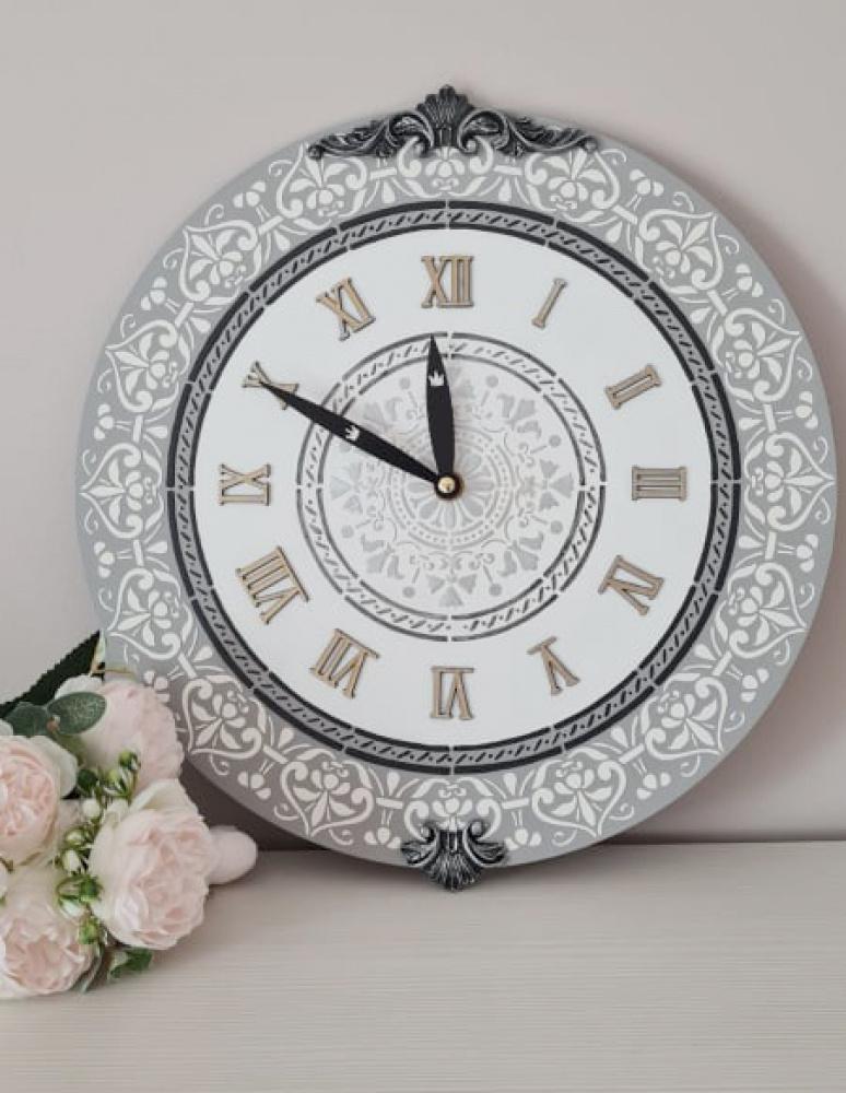 Laikrodis sieninis baltas