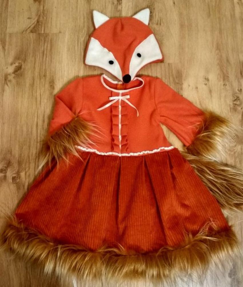 Lapės kostiumas +-110-116cm