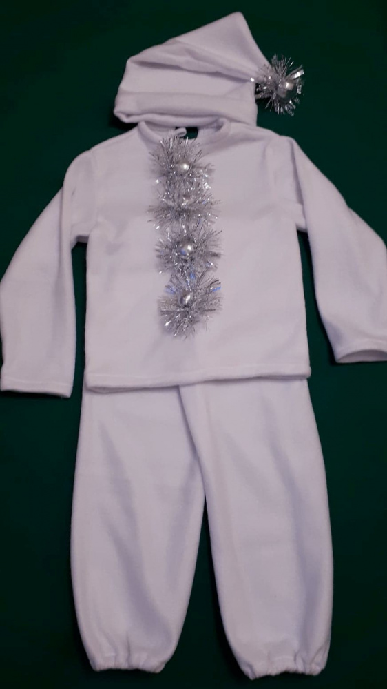 Ledinuko, šaltuko, nykštuko kostiumas
