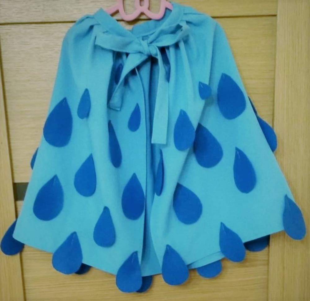 Lietaus, lietučio kostiumas