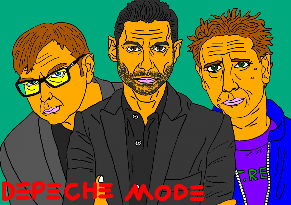 "Mano meilė muzikos grupei ""Depeche mode"""