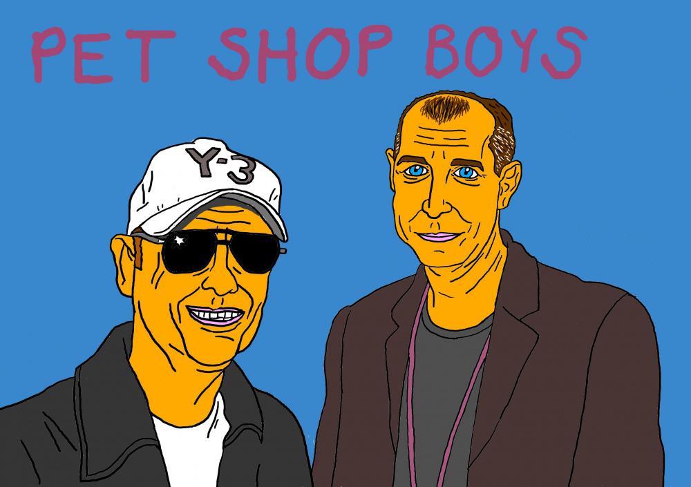 """Mano meilė muzikos grupei """"Pet shop boys"""""""