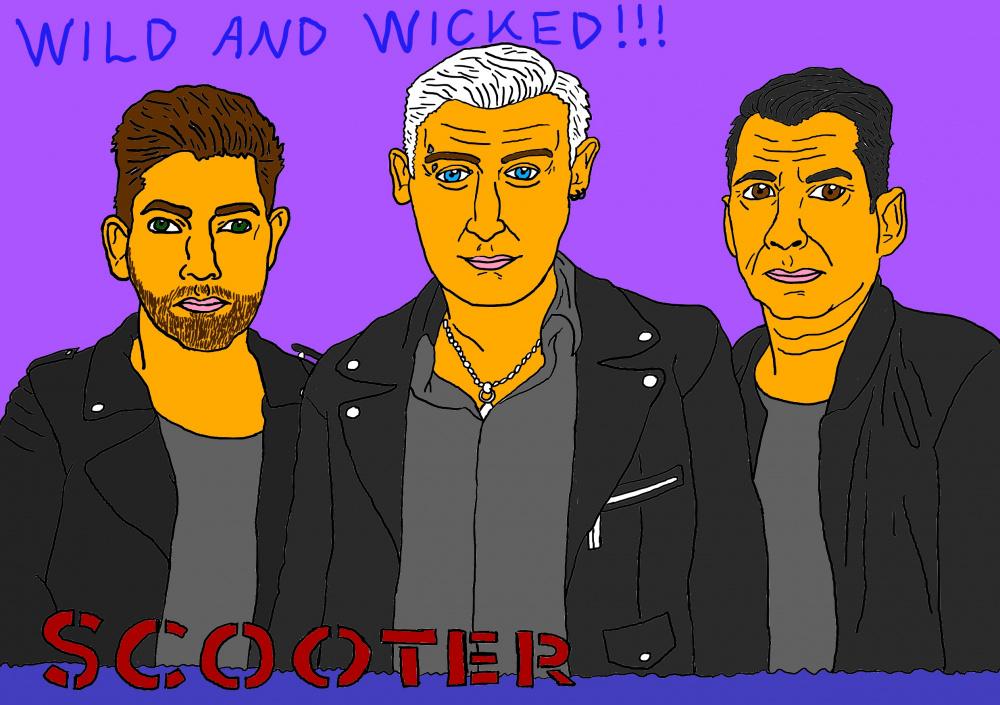 """Mano meilė muzikos grupei """"Scooter"""""""