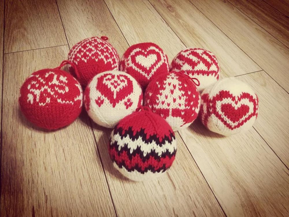 Megzti eglutės žaisliukai