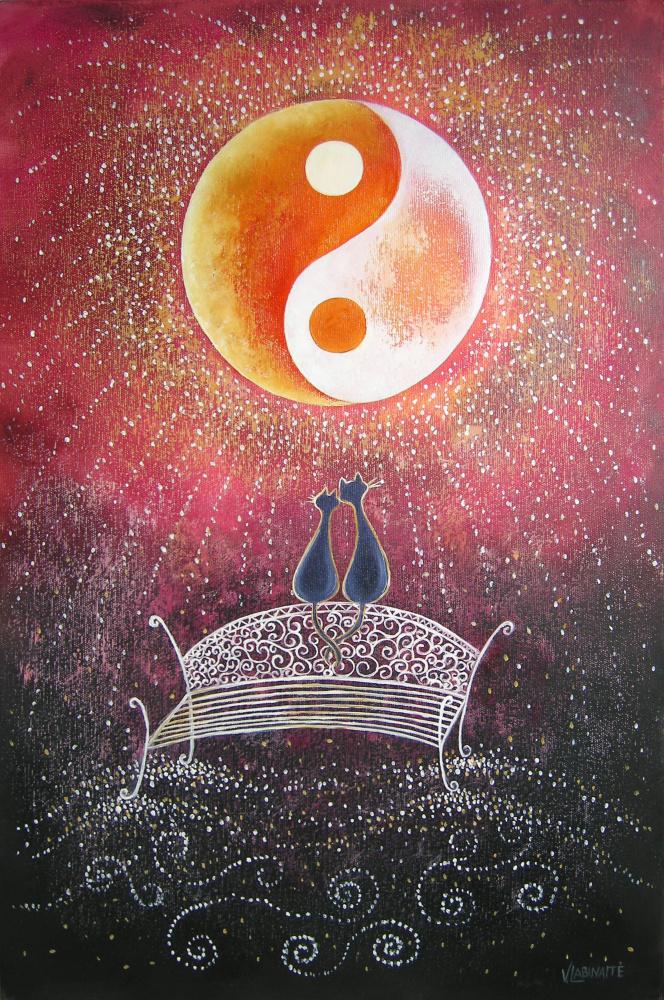 Meilės mėnulis 40x60, al,drobė
