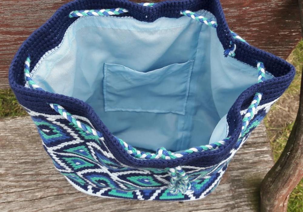 Mėlyna kuprinė