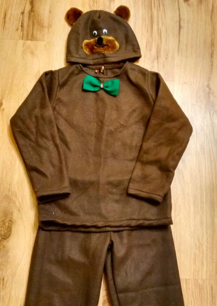 Meškino, meškiuko, meškos, lokio, lokiuko karnavalinis kostiumas