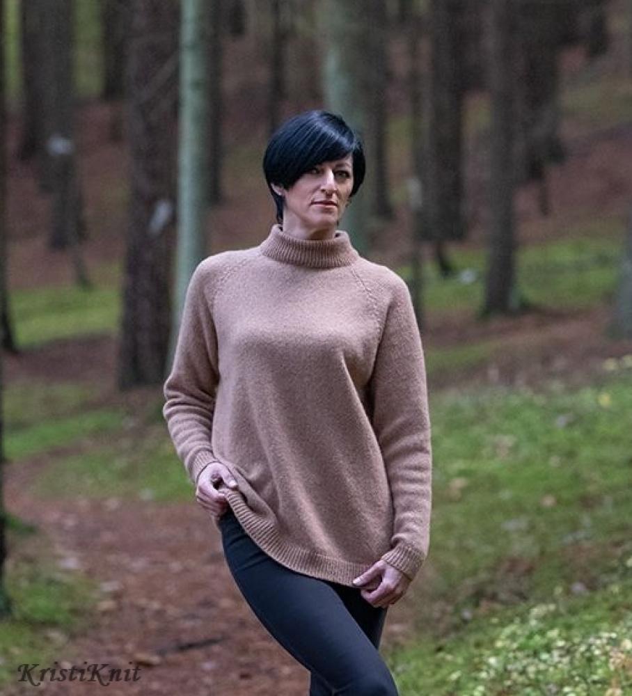 """moteriškas megztinis """"Camel"""""""