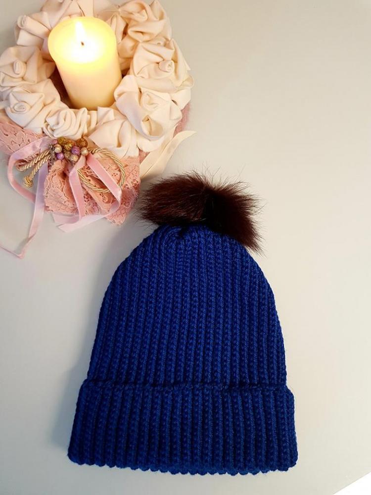 Nerta mėlyna kepurė Nr 2