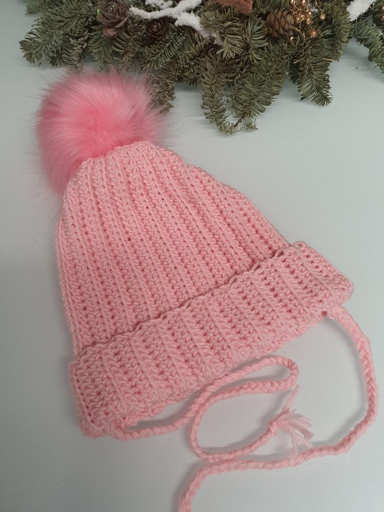 Nerta ružava kepurė