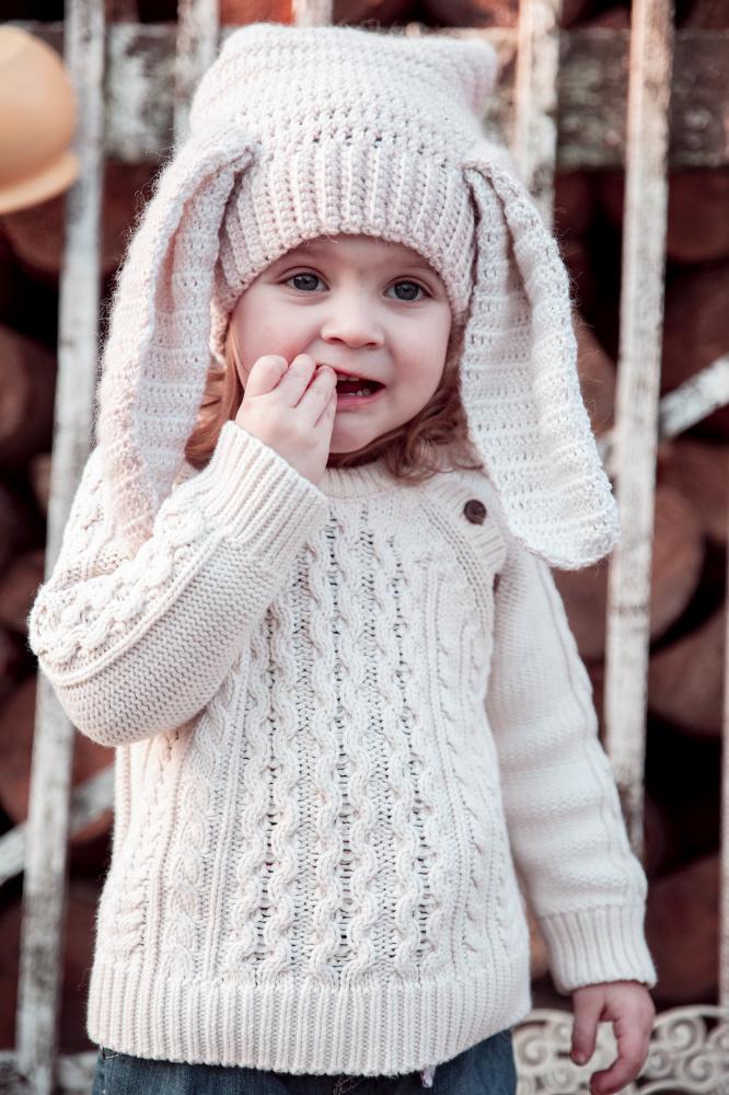 Nerta vaikiška kepurė