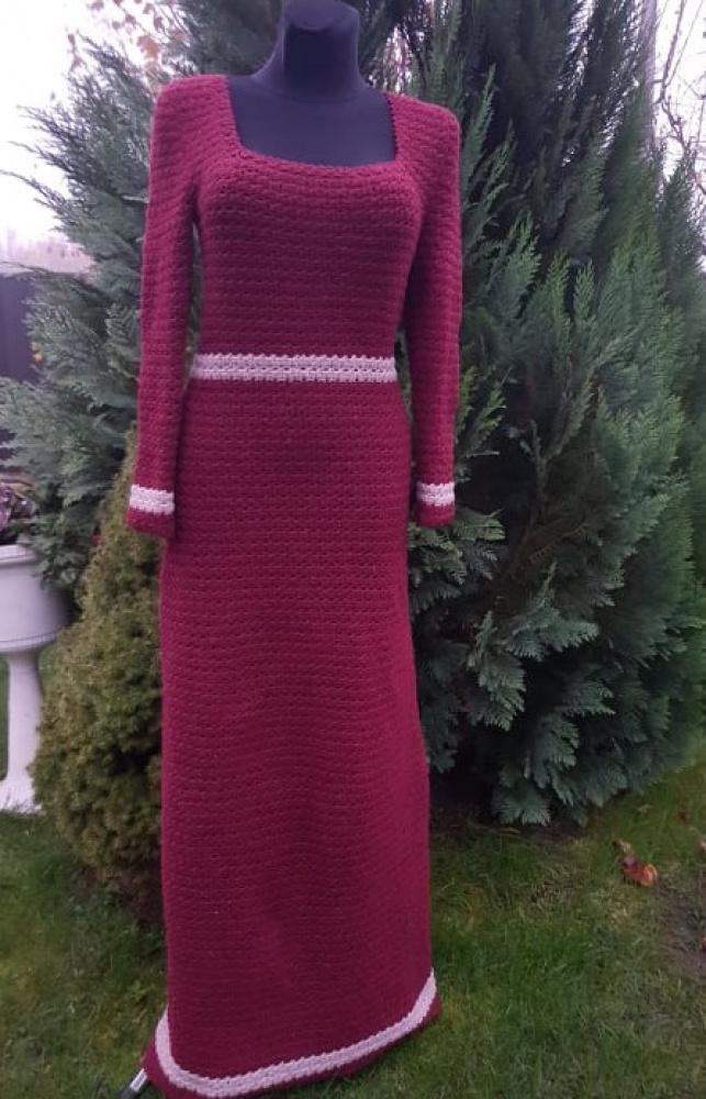 Nerta žieminė suknelė