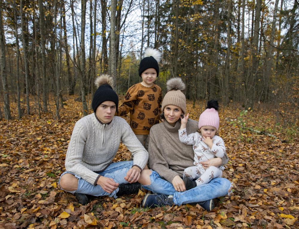 Nertos kepurės šeimai