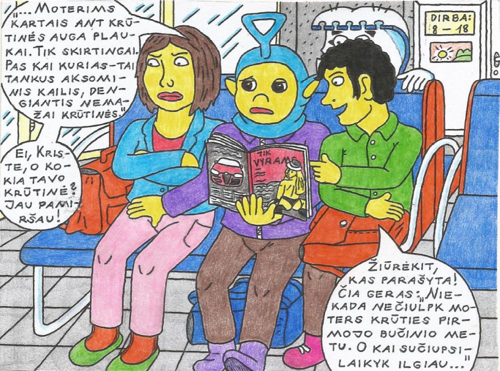 Nyciečių mokinių veikla Kupiškio autobusų stotyje, belaukiant autobuso namo