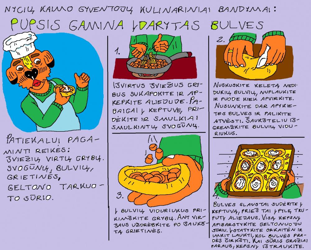Nycių kaimo kulinarija 3