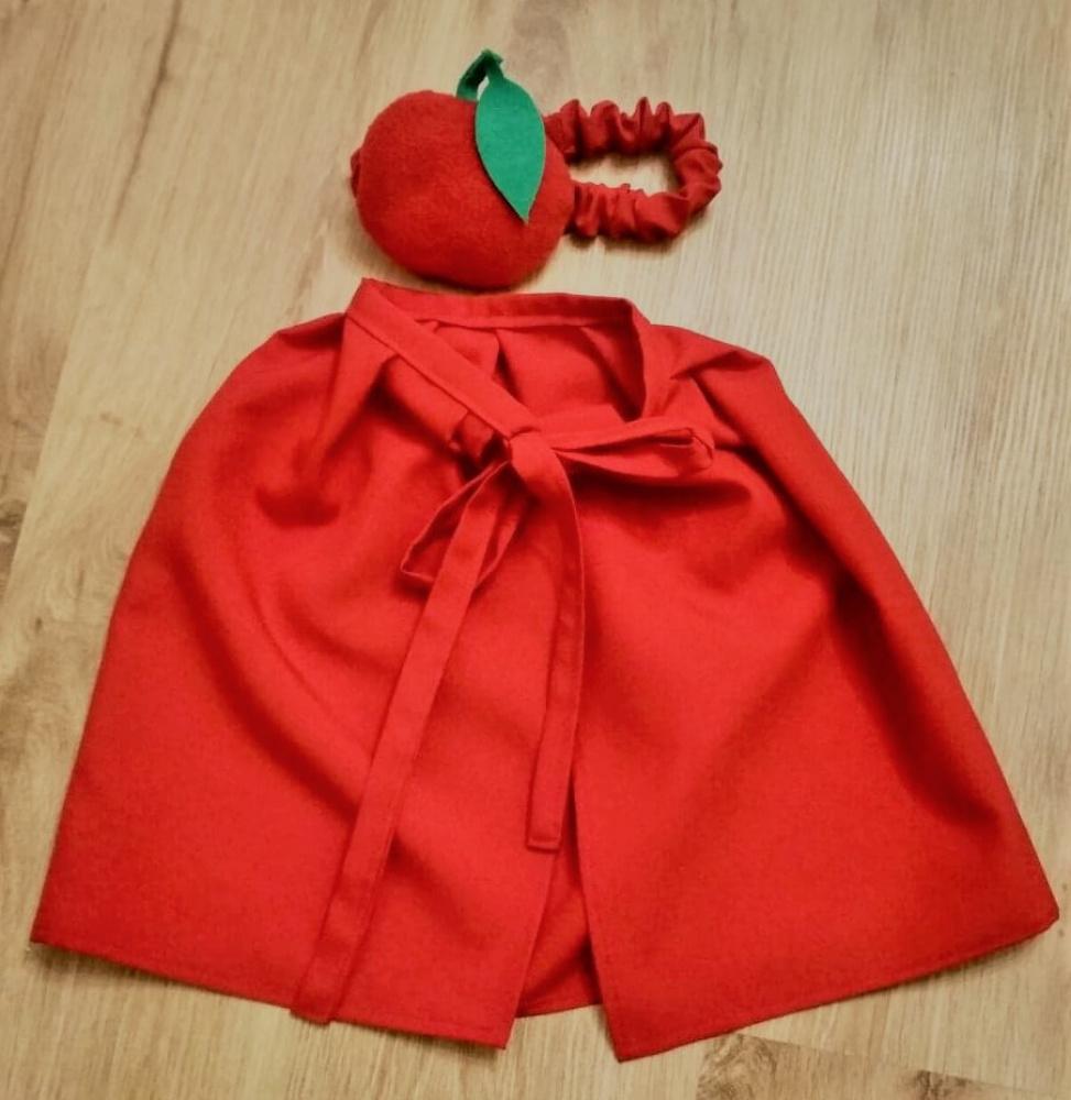 Obuolio arba pomidoro kostiumas