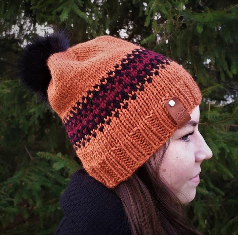 Oranžinė kepurė