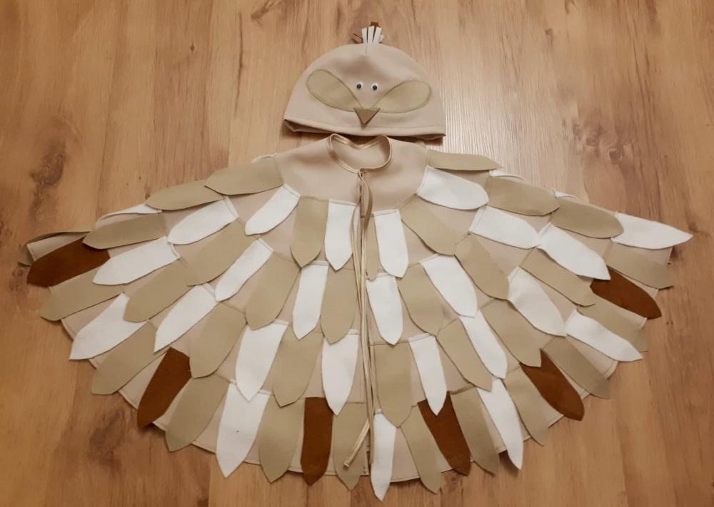 Paukščio, paukščiuko, vieversio kostiumas