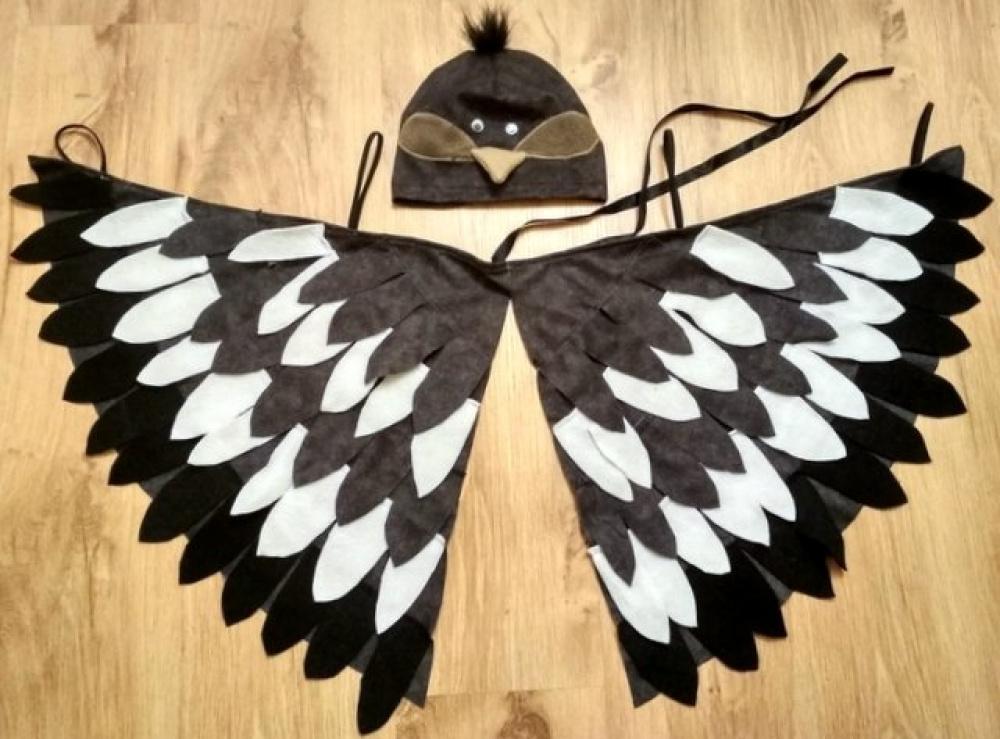 Paukščio, paukščiuko, žvirblio, žvirbliuko karnavalinis kostiumas vaikams**