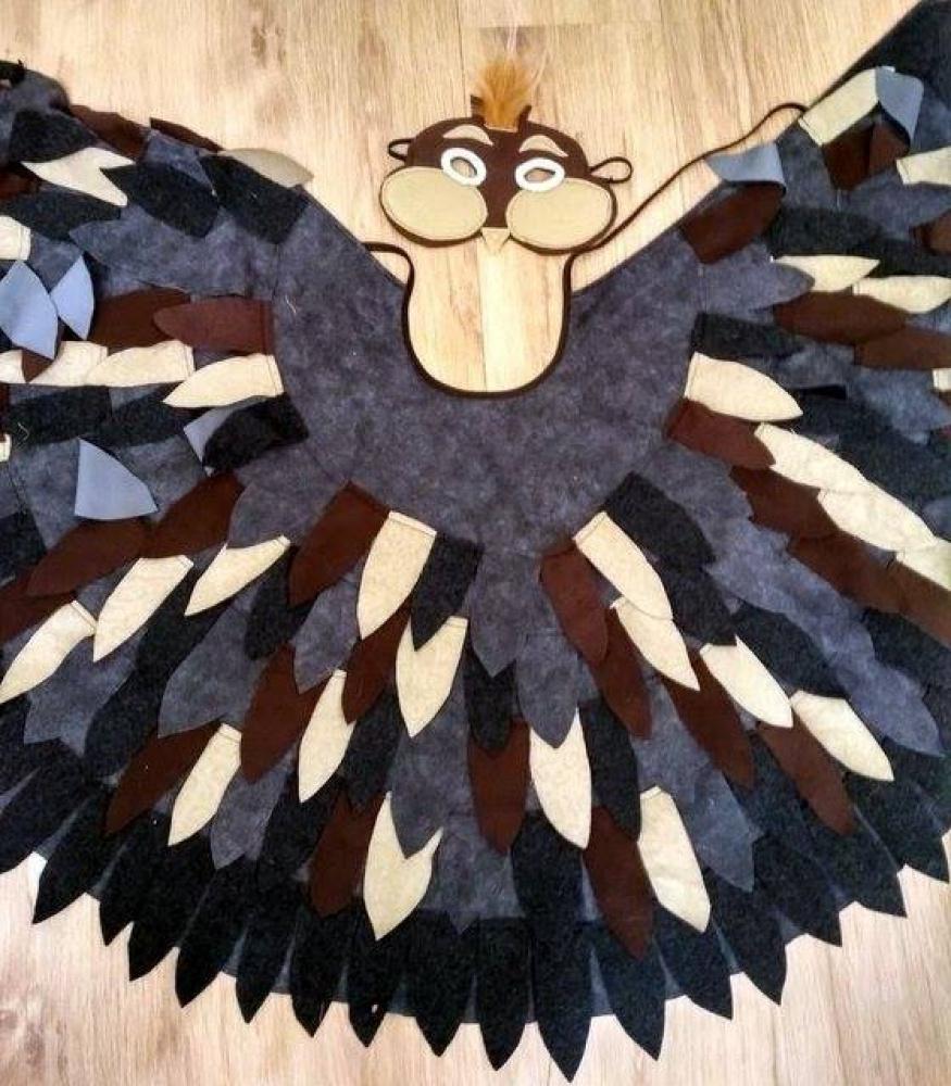 Paukščio, paukščiuko, žvirblio, žvirbliuko karnavalinis kostiumas vaikams*2