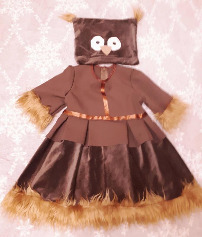 Pelėdos karnavalinis kostiumas mergaitei*/