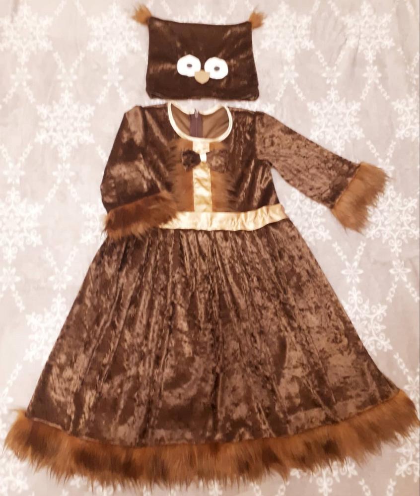 Pelėdos karnavalinis kostiumas mergaitei*/*