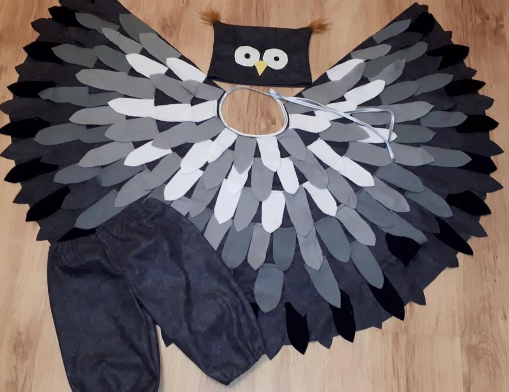 Pelėdos, pelėdžiuko vaikiškas karnavalinis kostiumas