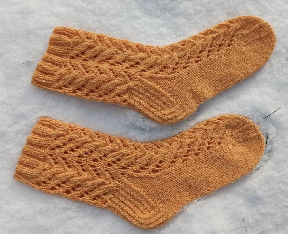 Persikinės kojinės