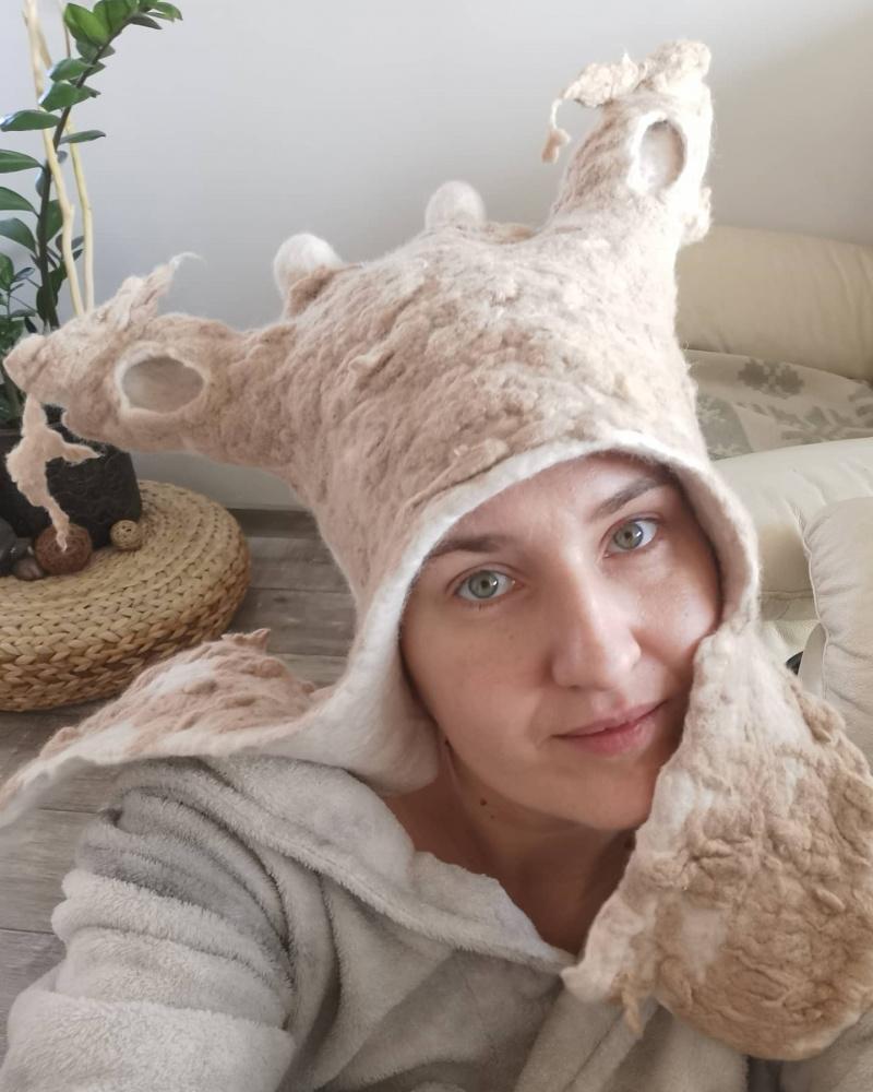 Pirties kepurė avytė