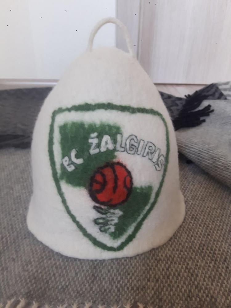 pirties kepurė krepšinio fanui