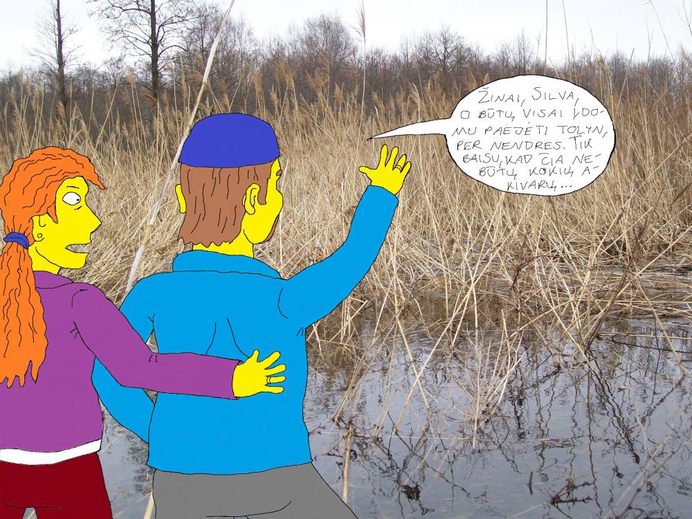 Polaidžio vandens apsemtame Papyvesio slėnyje 4