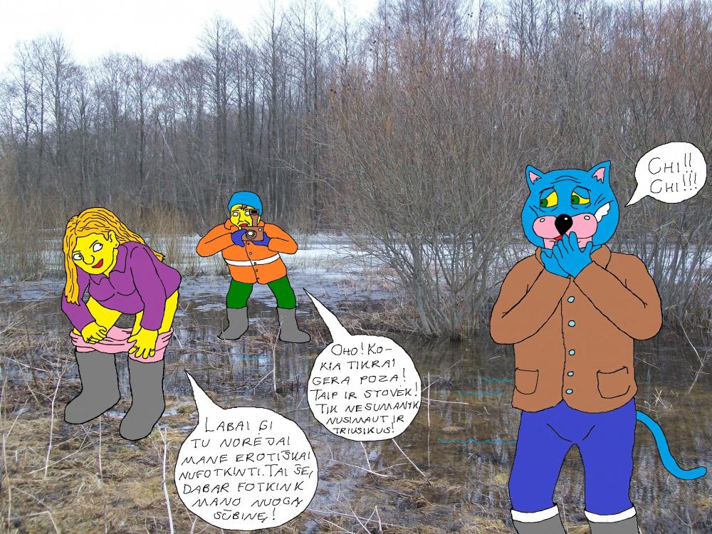 Polaidžio vandens apsemtame Papyvesio slėnyje 6