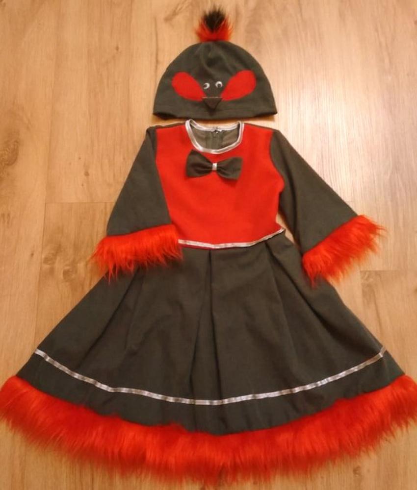 Sniegenos karnavalinis kostiumas mergaitei*