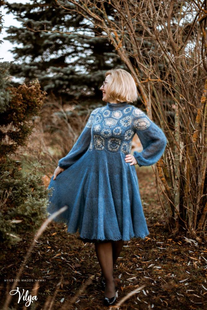 Snieguota suknelė