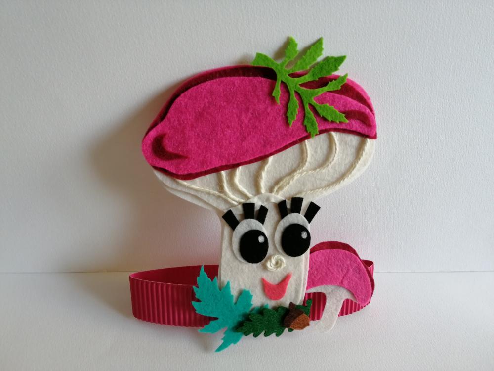 Ūmėdėlės kaukė - karūna Rudenėlio šventei