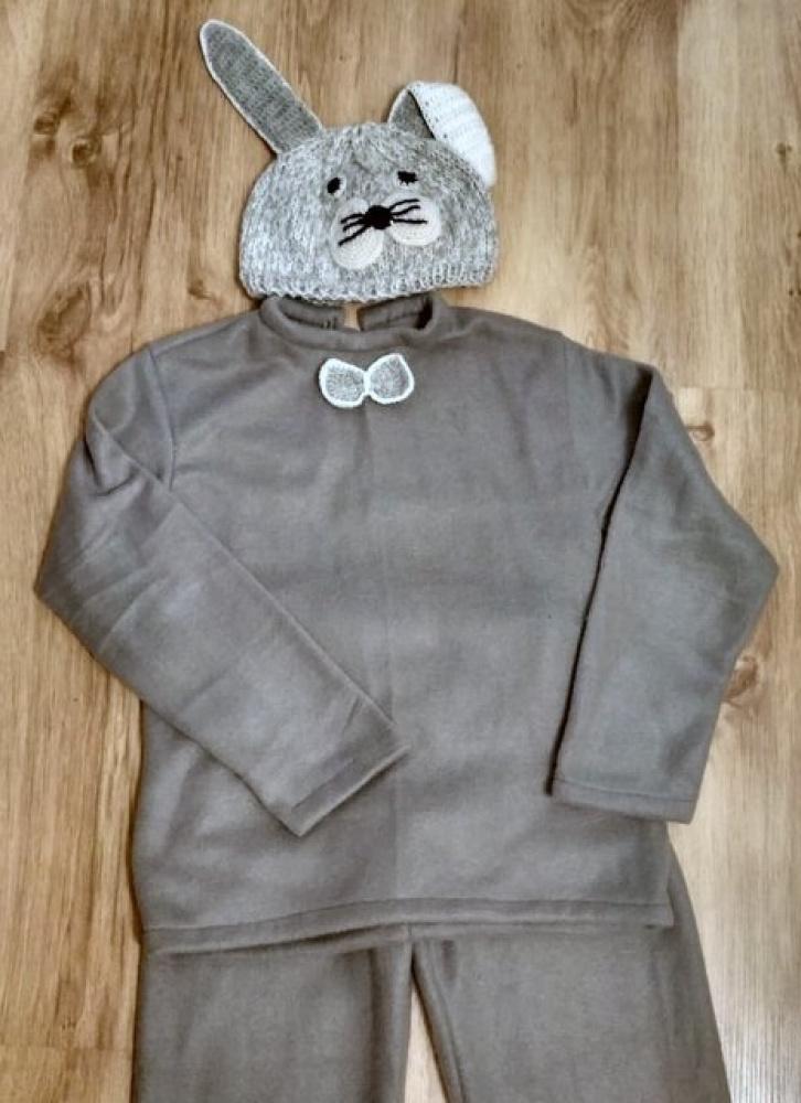 Vaikiškas kiškio, zuikio karnavalinis kostiumas +-122 -128cm *1