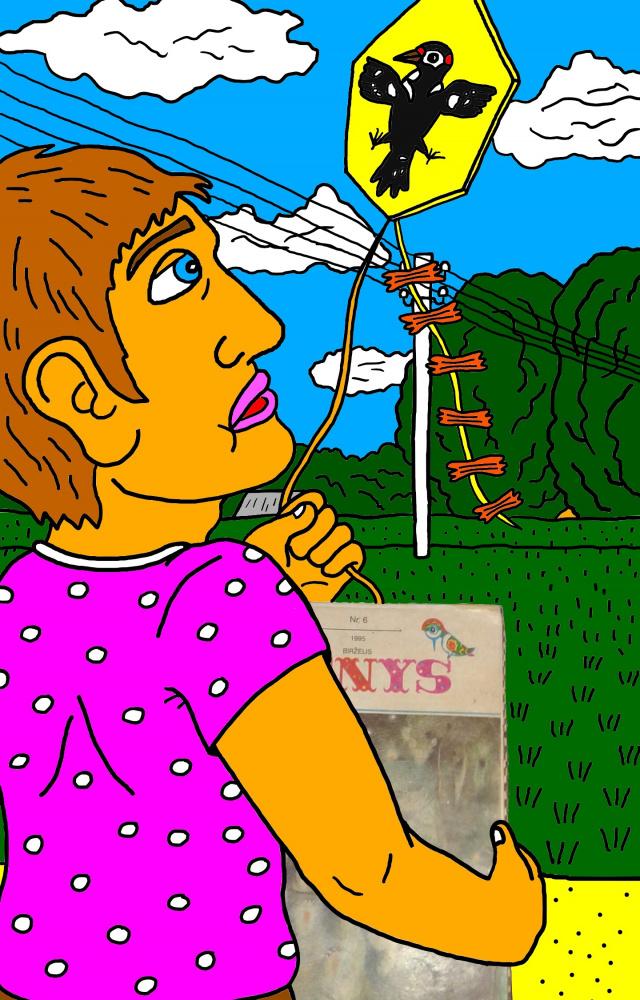 """Vaikystės memuarai, susiję su žurnalu """"Genys"""" 25"""