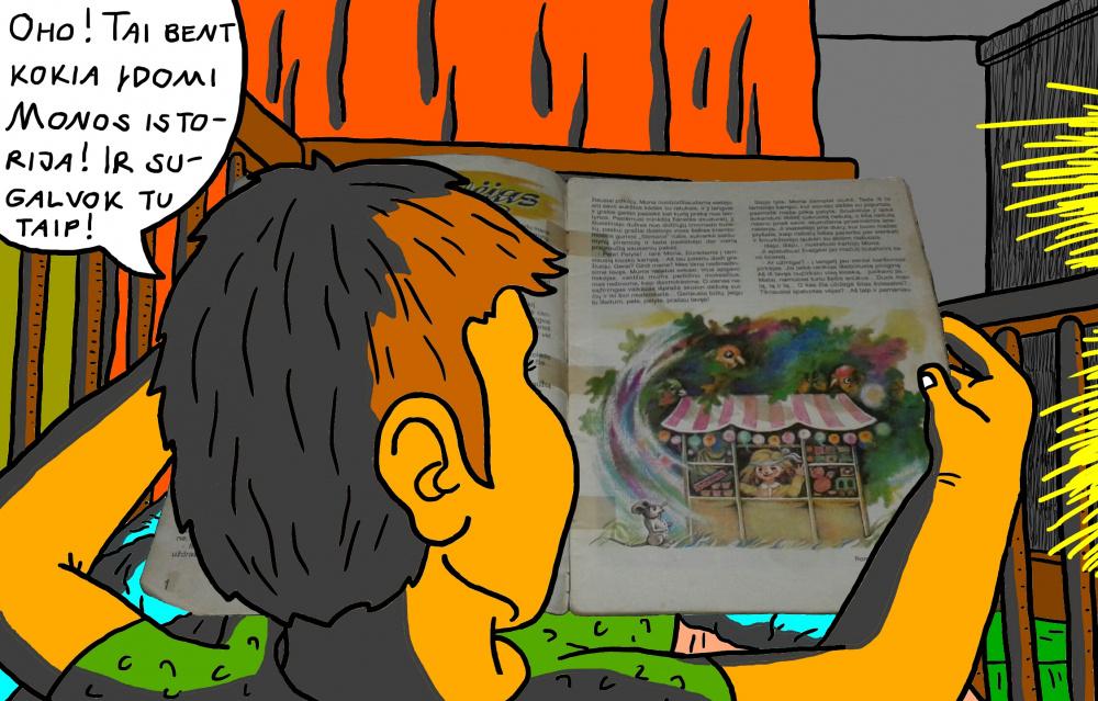 """Vaikystės memuarai, susiję su žurnalu """"Genys"""" 26"""