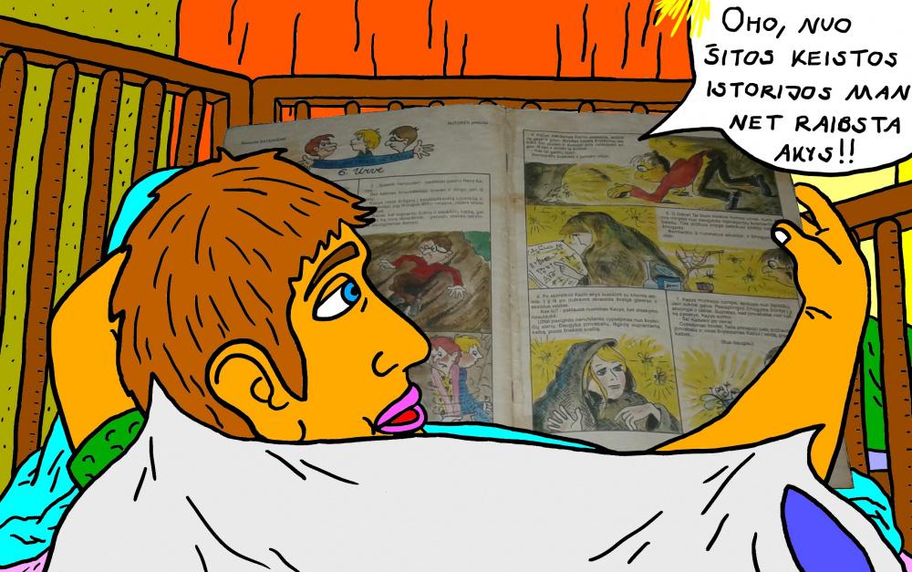 """Vaikystės memuarai, susiję su žurnalu """"Genys"""" 27"""
