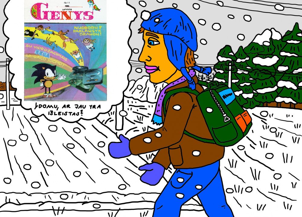 """Vaikystės memuarai, susiję su žurnalu """"Genys"""" 30"""