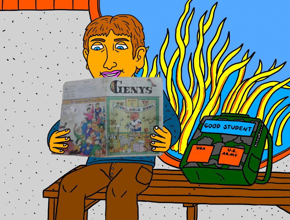"""Vaikystės memuarai, susiję su žurnalu """"Genys"""" 33"""