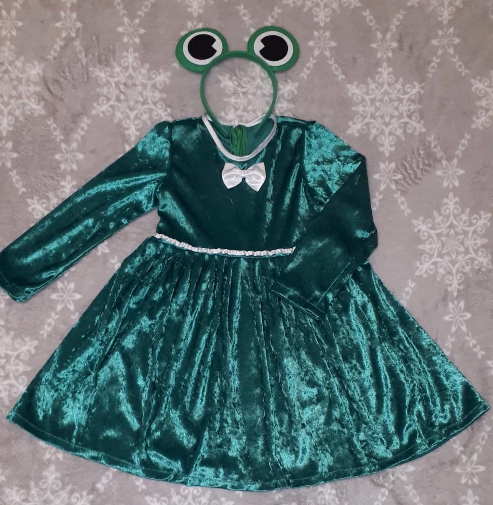 Varlytės, varlės karnavalinis kostiumas mergaitei**