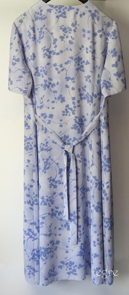 Vasaros suknelė-chalatas