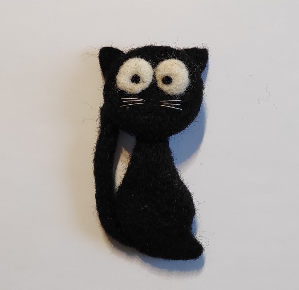 """velta sagė """"Juodas katinukas"""""""