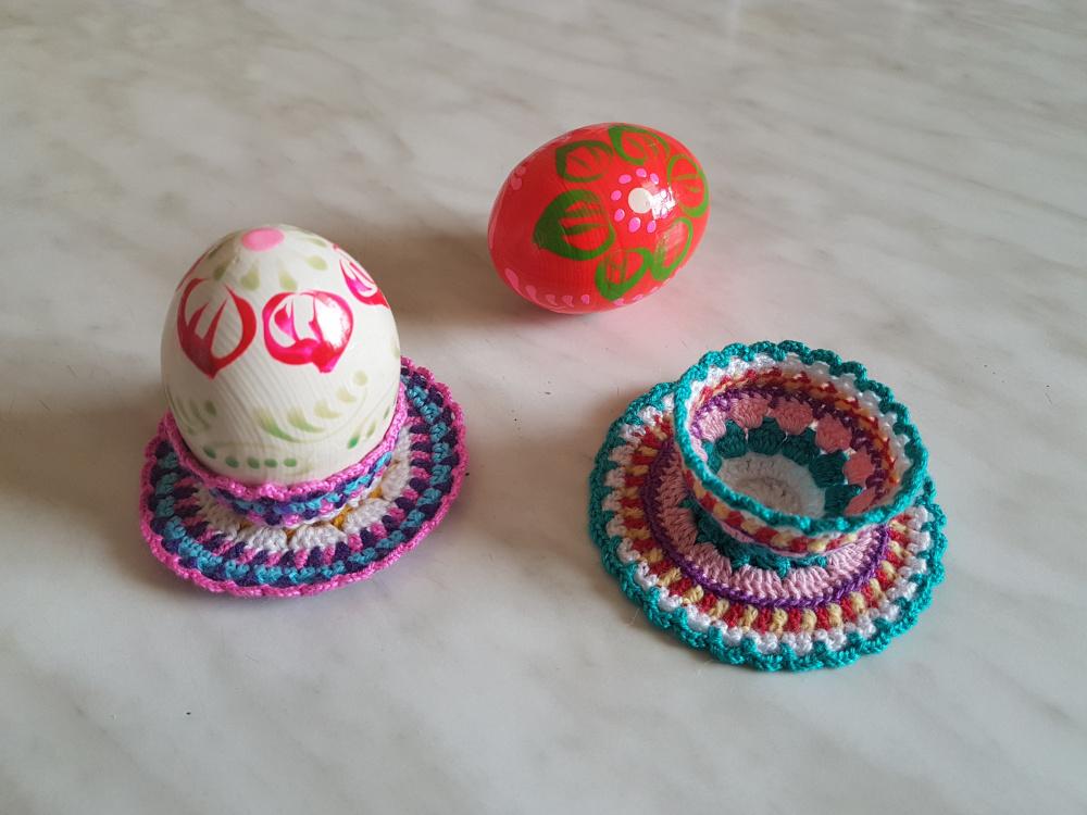 Velykų kiaušinių stendas