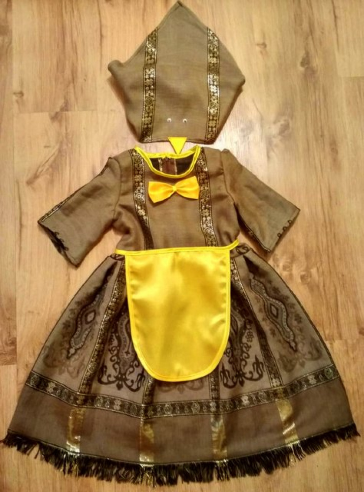 vištytės, vištos karnavalinis kostiumas mergaitėms